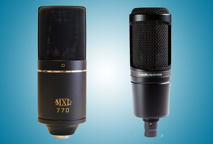 MXL 770 Vs AT2020