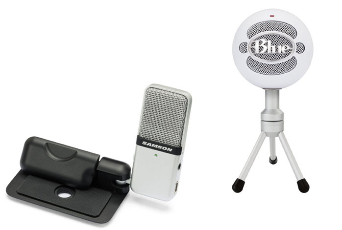 Samson Go Mic Vs Blue Snowball