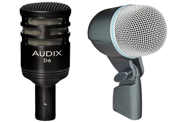 Audix D6 Vs Shure Beta 52A