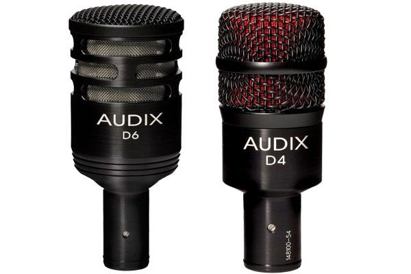 Audix D6 vs D4