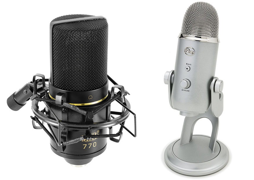MXL 770 Vs Blue Yeti
