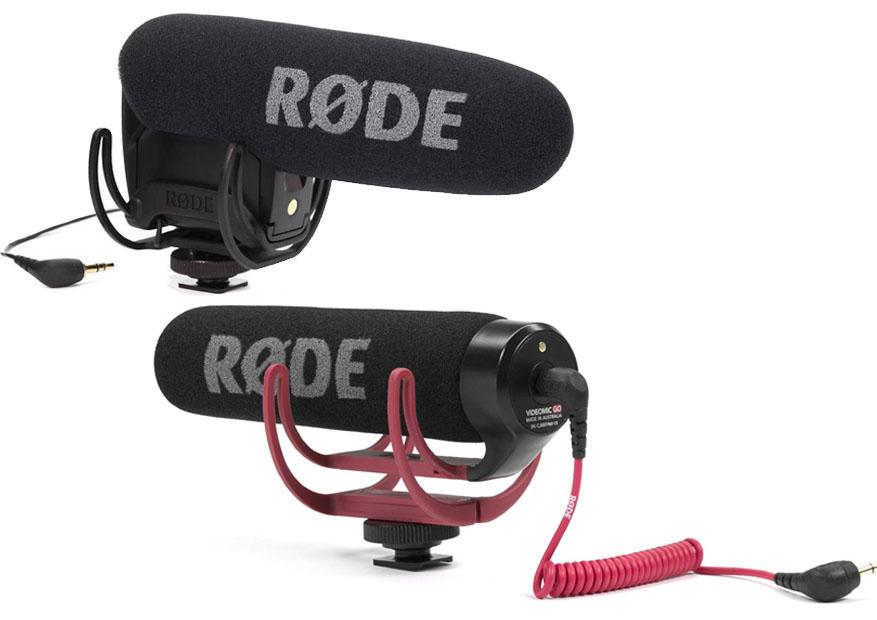 Rode VideoMic Pro Vs Go
