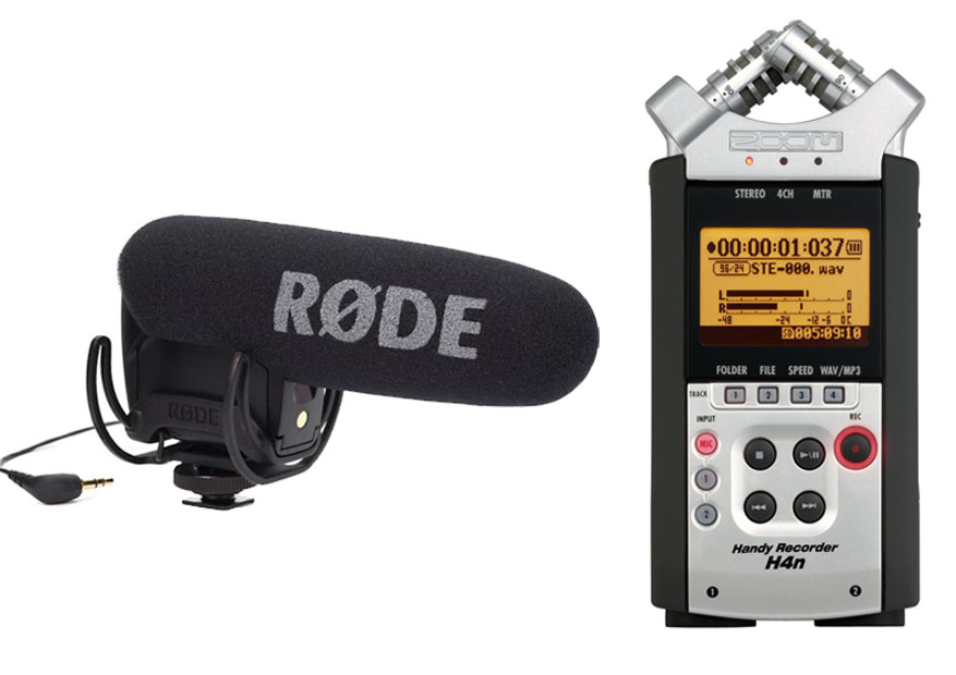 Rode VideoMic Pro Vs Zoom H4N