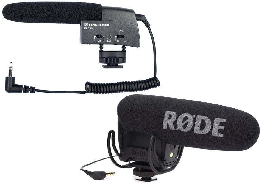 Sennheiser MKE 400 Vs Rode VideoMic Pro