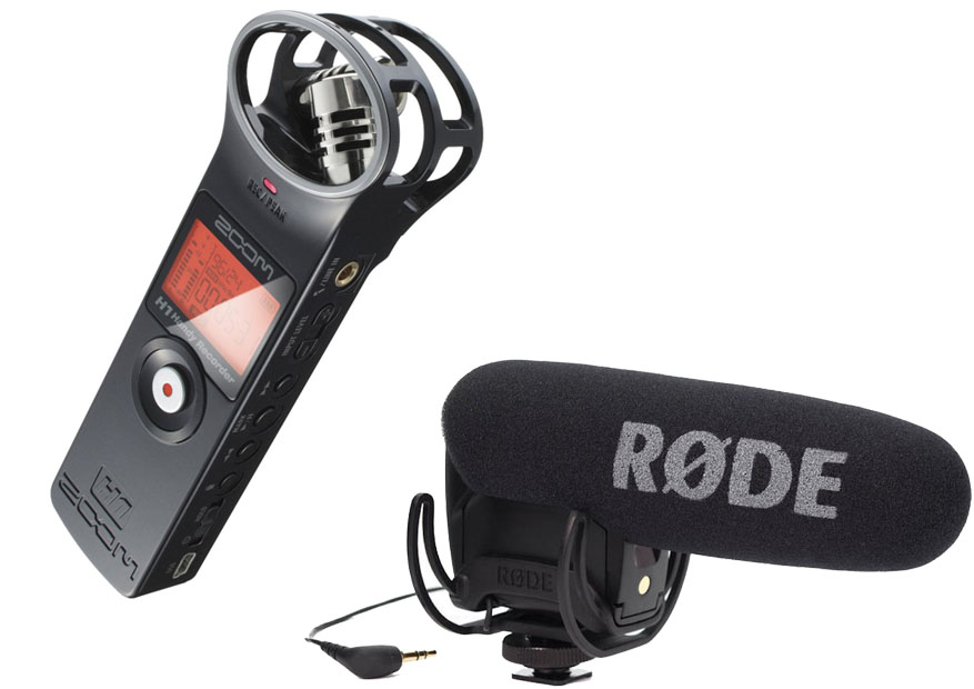 Zoom H1 Vs Rode VideoMic Pro