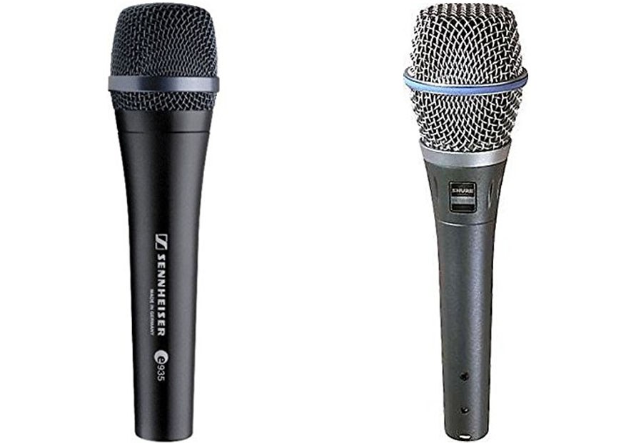 Sennheiser E935 Vs Shure Beta 87A
